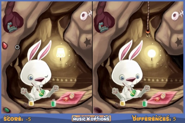 Easter Bunny Differences