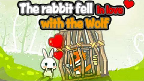 Rabbit Fell in Love with the Wolf